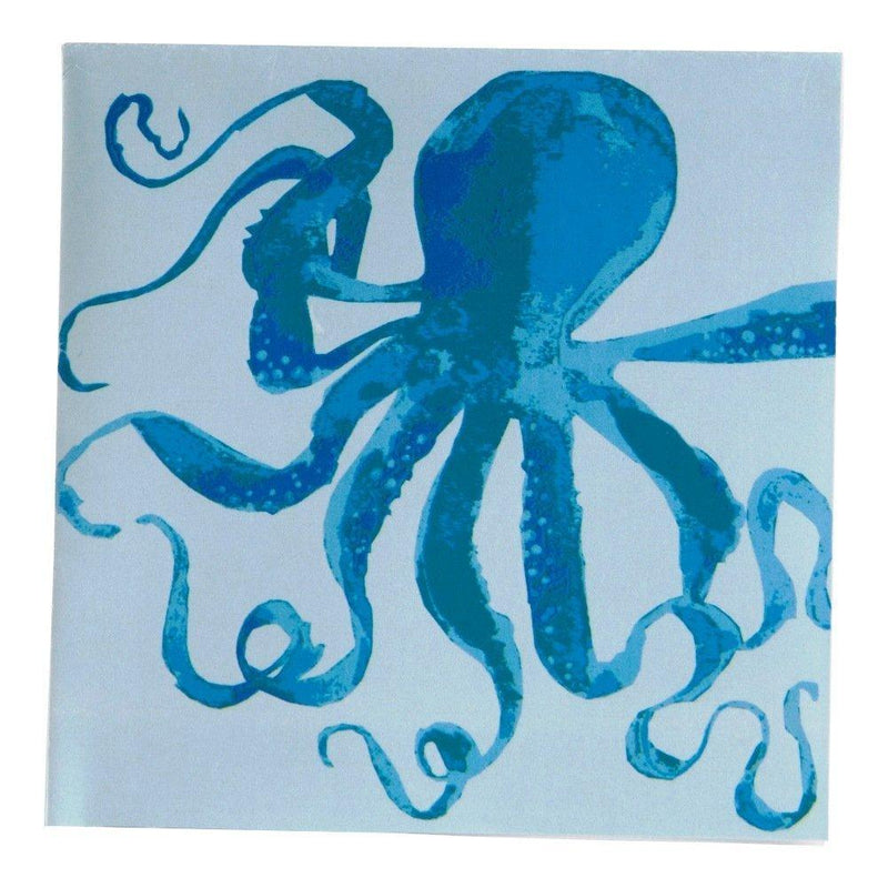 Tag Oceanside Collection Octopus Paper Cocktail Napkin