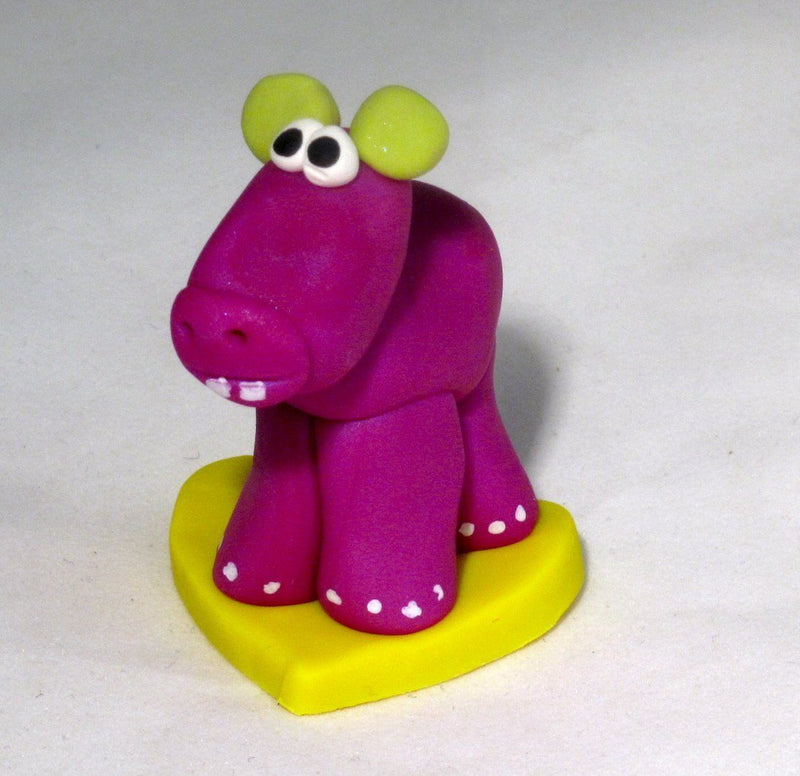 GP Originals Hip Hippo Figurine, Handmade in the USA