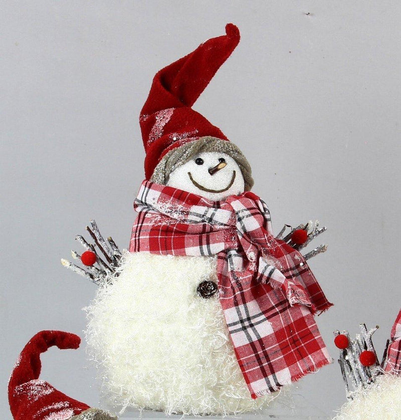 Young's Decorative Snowman Figurine, 13 Inch