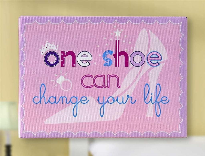 One Shoe Canvas Wall Art by Giftcraft