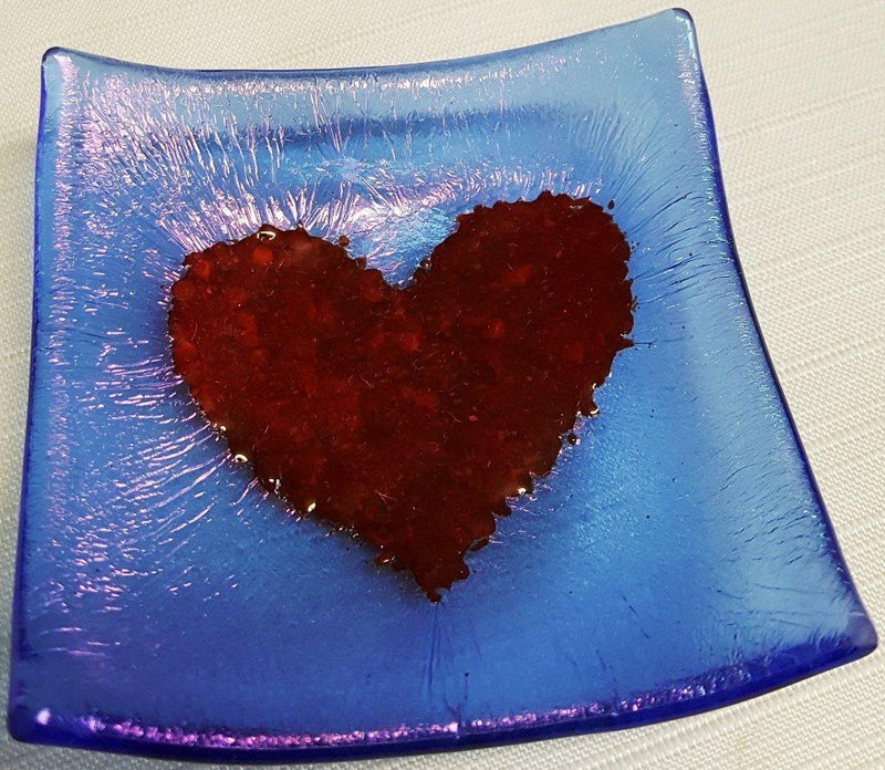 Cocoon Designs Iridized Mini Tray, Heart, Choice of Color