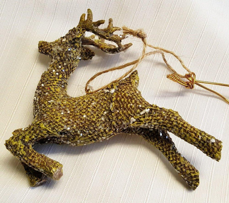 RAZ Imports Deer Ornament, Choice of Style