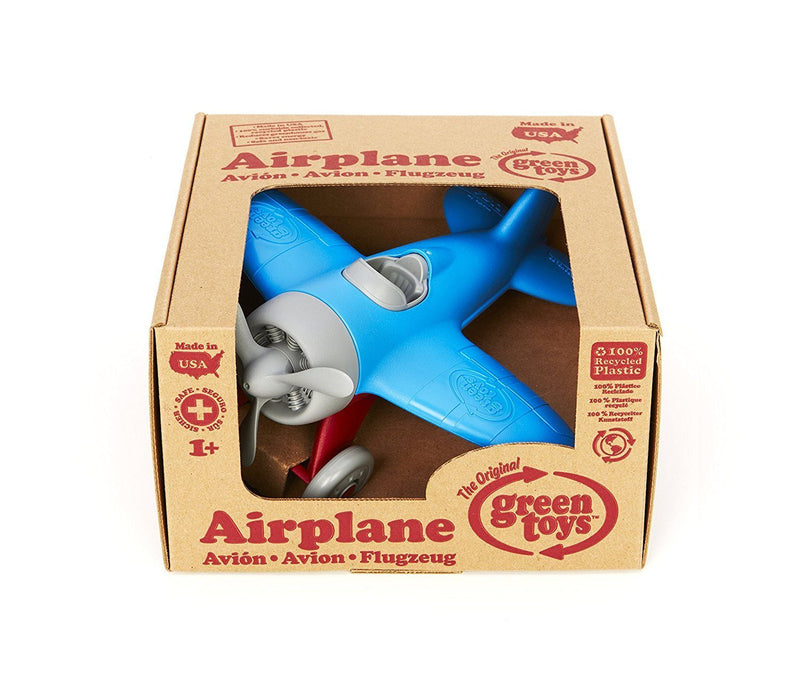 Green Toys Airplane Vehicle Toy