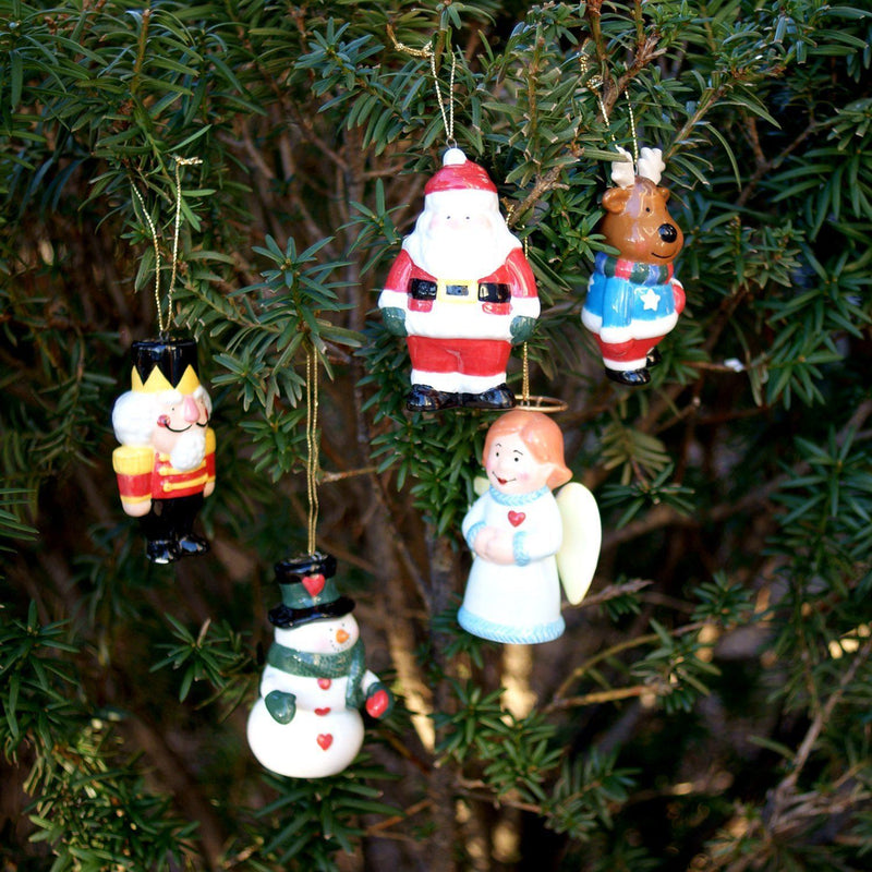 OccaXions Winter Wobbles Christmas Ornaments Set of 5