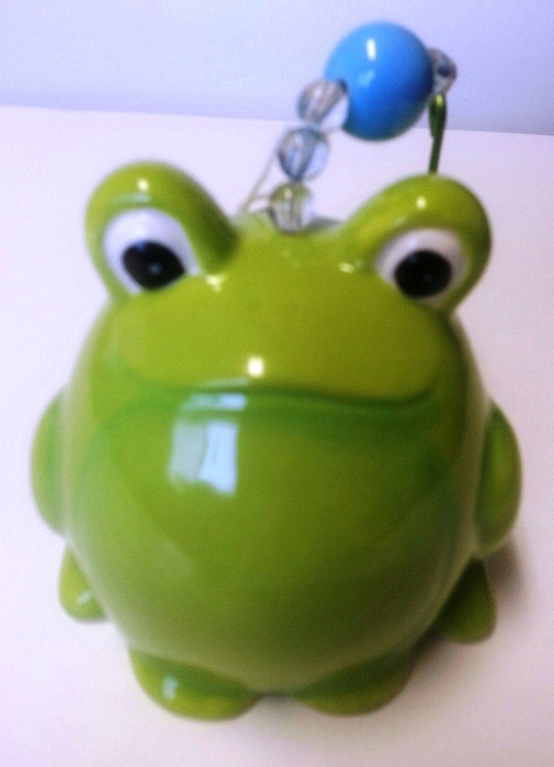 Grasslands Road Out on a Whim Garden Critter Wind Chime, Large Frog
