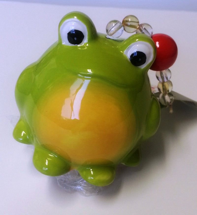 Grasslands Road Out on a Whim Garden Critter Wind Chime,Small Frog