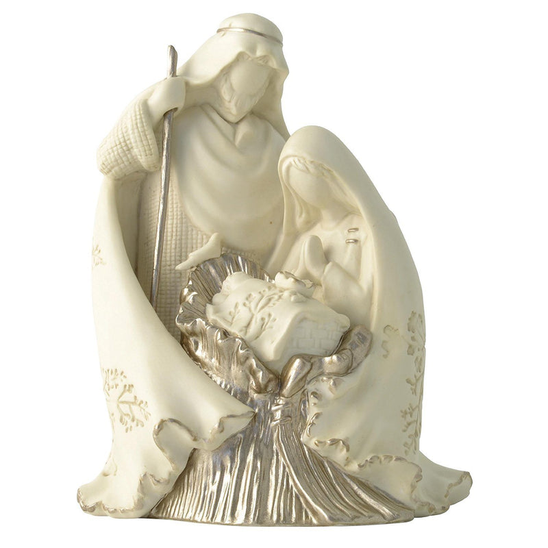 Enesco Nature's Poetry Holy Family One-Piece Nativity