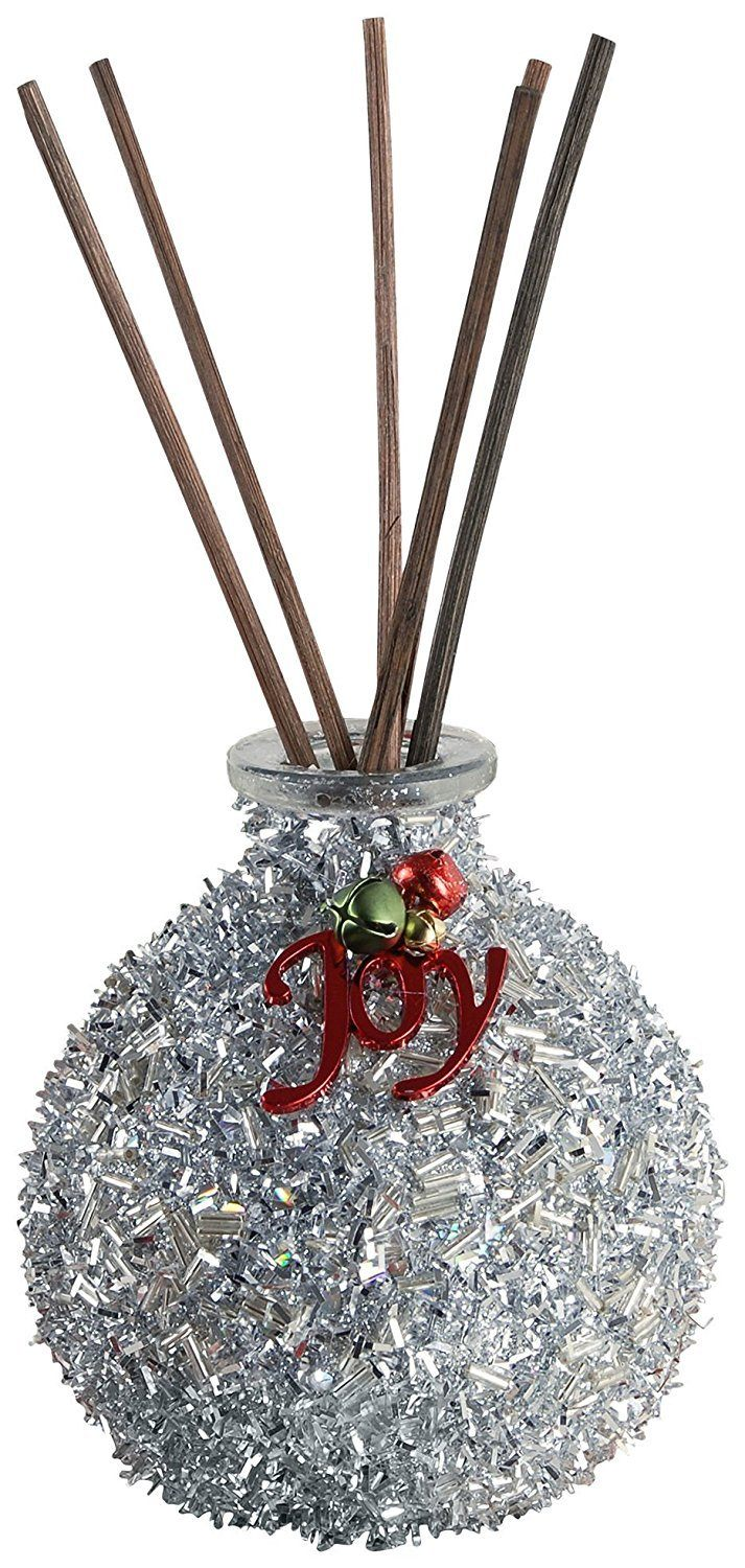 San Miguel Silver Glitter Reed Diffuser , Silver, By Pomeroy