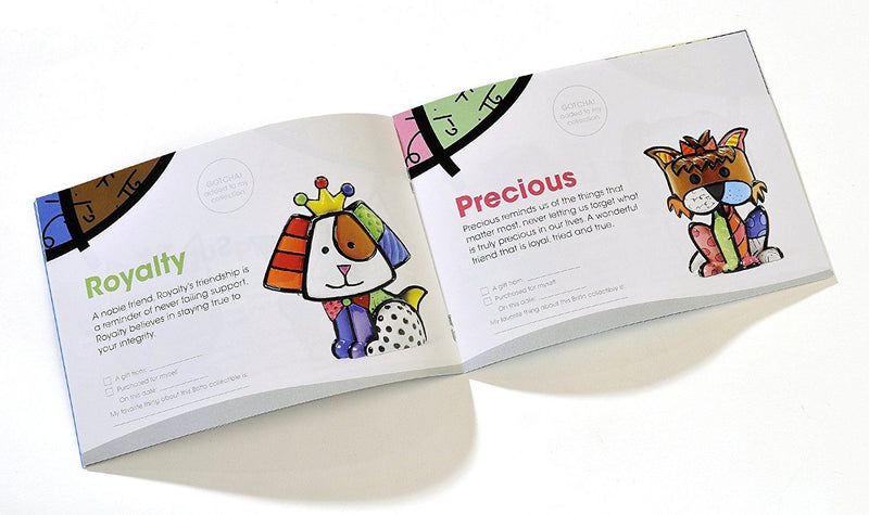 Romero Britto Paper Mini Booklet
