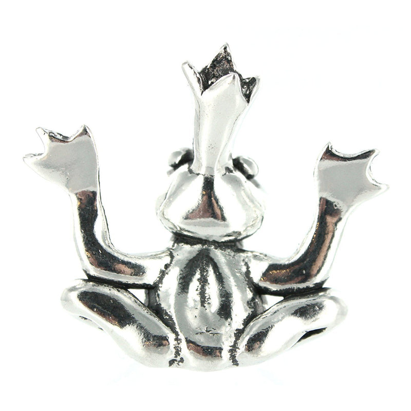 Pewter Frog Ring Holder By Basic Spirit