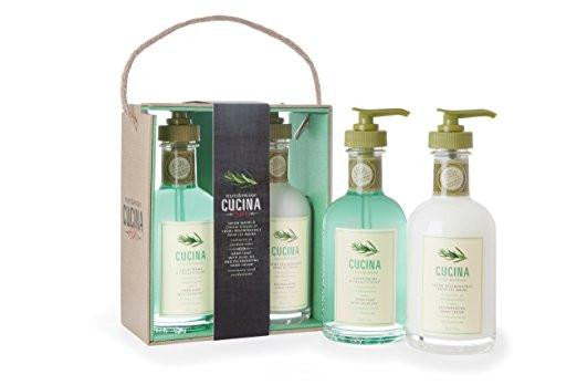 Cucina Rosemary and Cardamom Bistro Collection Decorative Hand Care Duo By Fruits & Passion