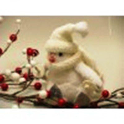White Penguin Figurine by AA Floral