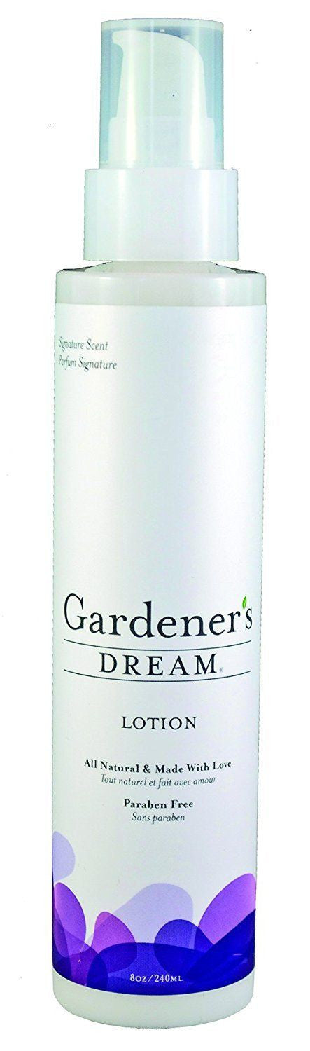 Aroma Crystal Therapy All Natural Gardeners Dream Lotion, Signature Scent, 8 OZ