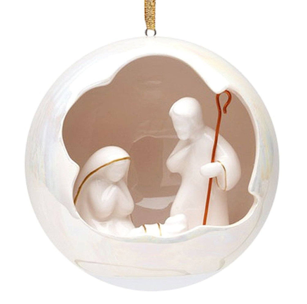 Appletree Design Holy Family North Star Ornament