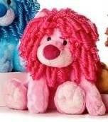 "Aurora Plush 10"" Mop Top, Pink"