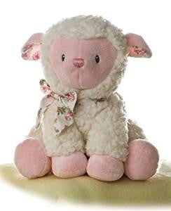 Aurora Plush Pink Girl Lamb