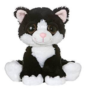 "Aurora Plush 10"" Dreamy Eyes Cat ""Clarence"""