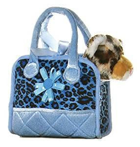 Aurora Plush FancyPal Leopard Pet Carrier