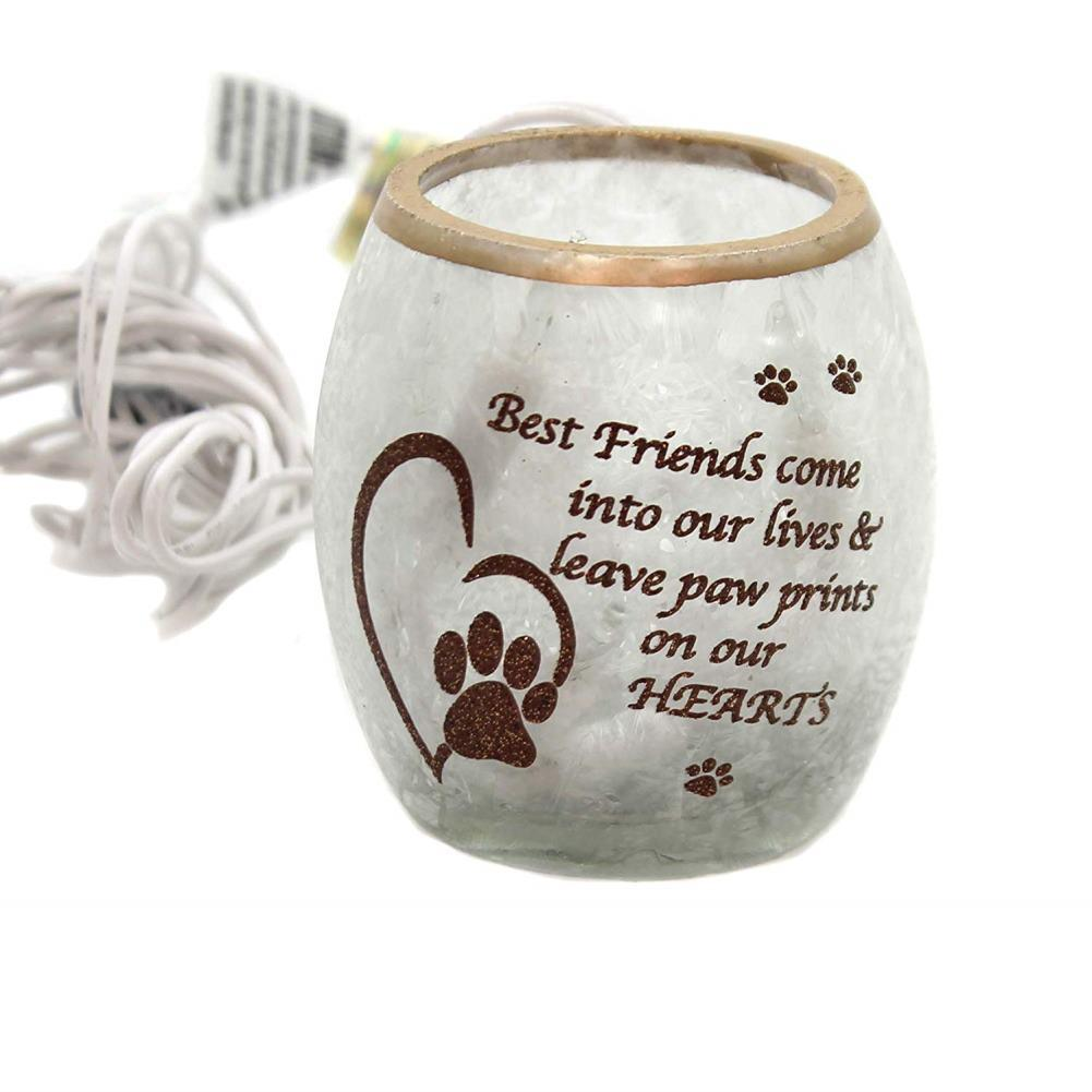 Stony Creek Best Friend Pet Lighted Glass Votive