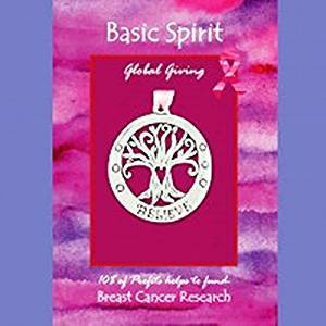 Basic Spirit Global Giving Pewter Ornament, Believe Tree, Made in Nova Scotia