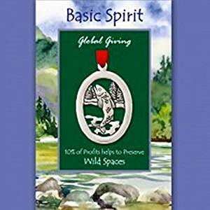 Basic Spirit Global Giving Wild Spaces Pewter Ornament, Fish, Made in Nova Scotia