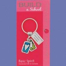 Basic Spirit Heart Keyring - Gifts From A Distance