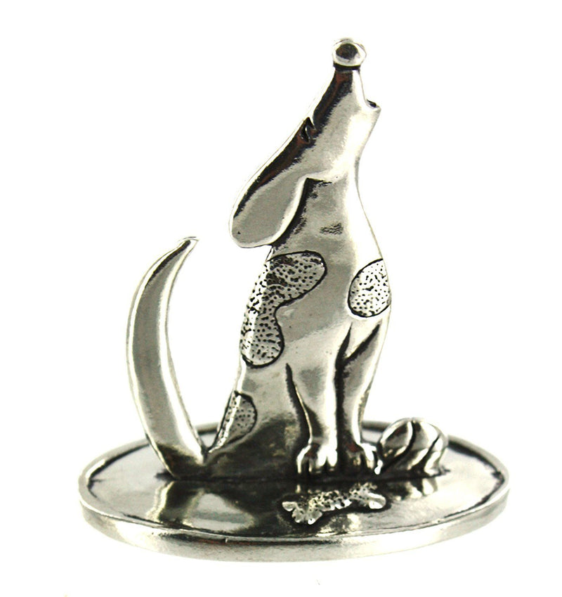 Basic Spirit Pewter Dog Ring Holder