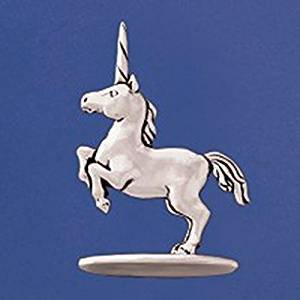 Basic Spirit Pewter Unicorn Ring Holder, Made in Nova Scotia