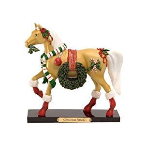 Trail of Painted Ponies Christmas Parade Pony Figurine