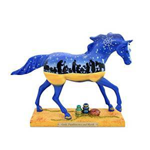 Trail of Painted Ponies Gold, Frankincense and Myrrh Pony Figurine