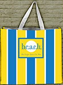 b.e.a.c.h. Reusable Tote by Fine Whines