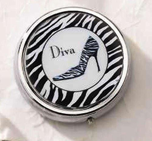 Art Deco Shoe Pill Box, Choice of Styles (Diva)