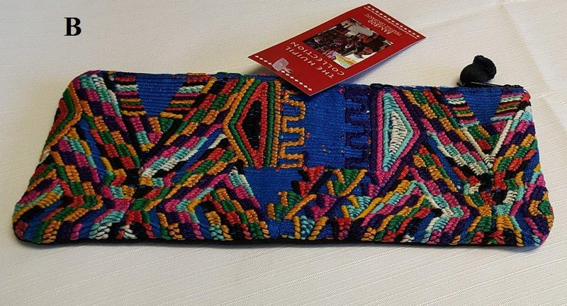 Bamboo Trading Company Huipil Pencil Pouch, Handmade in Guatemala, Choice of Style - Gifts From A Distance