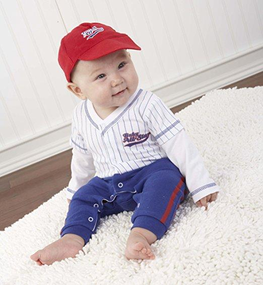 Baby Aspen Big Dreamzz Baseball Layette Set (0-6 months)