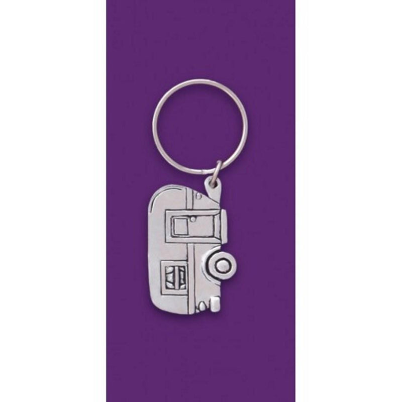 Basic Spirit Pewter Keychain, Camper, Made in Nova Scotia
