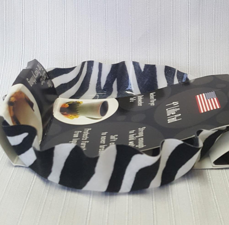 Andreas Silicone Lillie Pad, Zebra, Made in the USA
