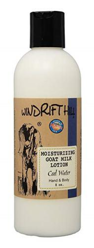 Windrift Hill Moisturizing Goat's Milk Lotion, 8 oz, Cool Water
