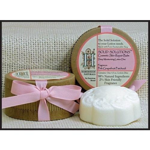 Habersham Candle Company Solid Hand Lotion Disc, Pink Grapefruit Patchouli