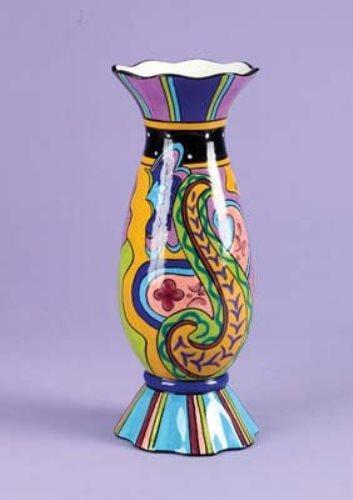 "Paisley 12"" Vase by Prosperity Tree"