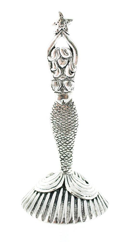 Basic Spirit Pewter Mermaid Ring Holder, Made in Nova Scotia