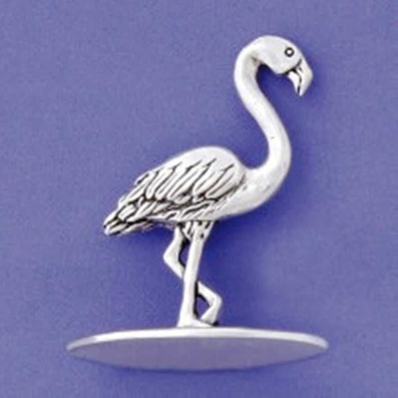 Basic Spirit Pewter Flamingo Ring Holder, Made in Nova Scotia