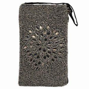Bamboo Trading Company Cell Phone or Club Bag, Night Bloom