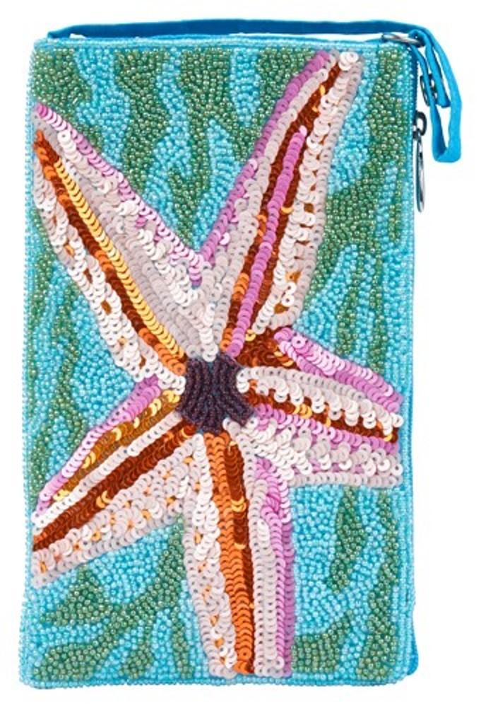 Bamboo Trading Company Cell Phone Club Bag, Starfish