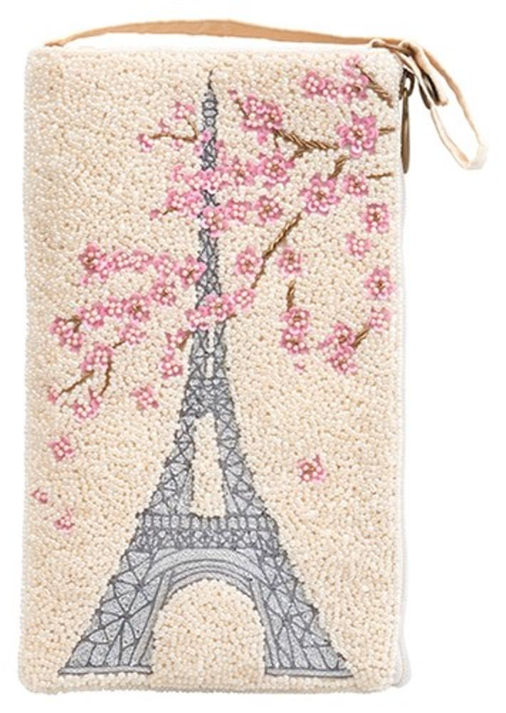 Bamboo Trading Company Cell Phone Club Bag, Paris Floral