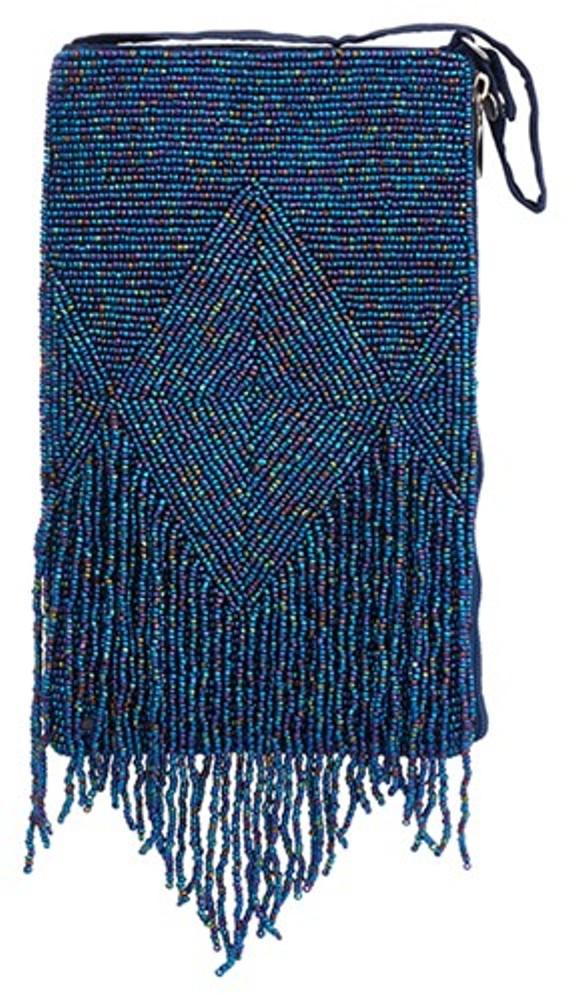 Bamboo Trading Company Cell Phone Club Bag, Midnight Fringe