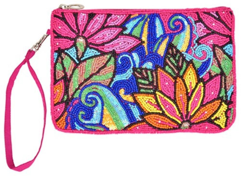 Bamboo Trading Company Cell Phone Club Bag, Lotus Collage