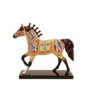 Trail of Painted Ponies Cheyenne Painted Rawhide Pony Figurine