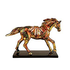 Trail of Painted Ponies Golden Feather Pony Figurine