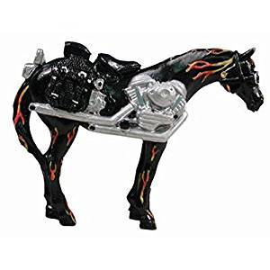 Westland Giftware Trail of Painted Ponies Motorcycle Mustang Pony Pin, Retired