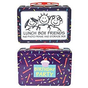Birthday Party Lunch Box Frame 4x6, by Westland Giftware